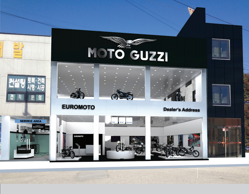 Showroom Moto Guzzi