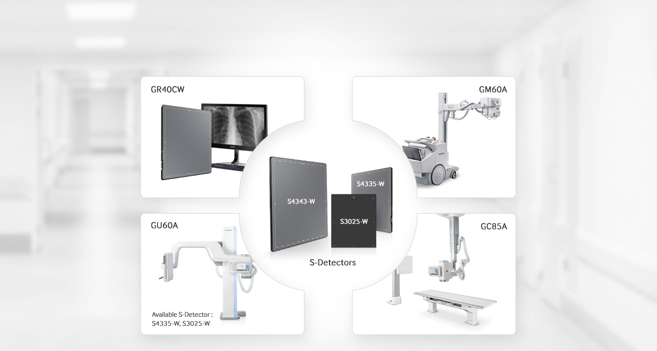 Hệ thống số hóa X-quang kỹ thuật số không dây - XGEO GR40