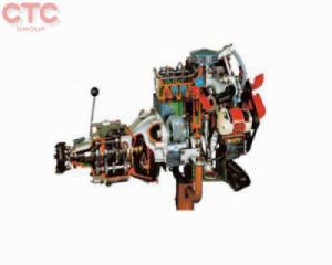 Mô hình động cơ diesel cắt bổ