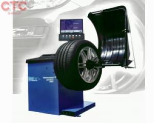 Máy cân bằng lốp hiển thị số cho xe du lịch