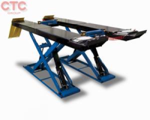 Cầu nâng cắt kéo có vị trí kiểm tra góc lái 3D, kích phụ nâng gầm và đĩa xoay
