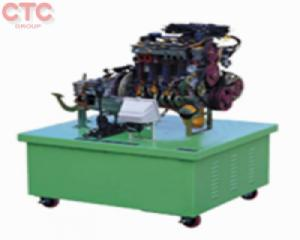 Mô hình cắt bổ chế hòa khí động cơ xăng