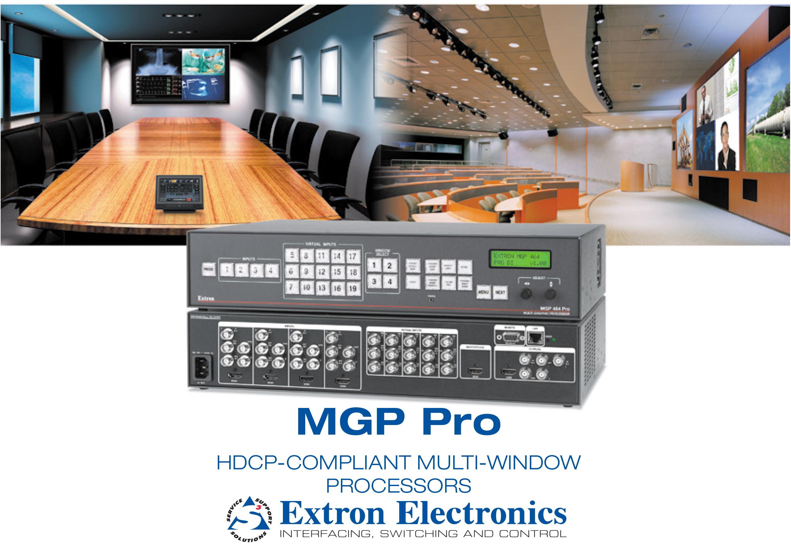 Thiết bị chuyển mạch và sắp xếp tín hiệu hình ảnh MGP 464 Pro