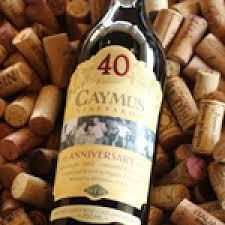 Rượu vang Caymus 40 Anniversario