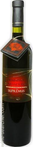 Rượu vang   PRIMITIVO DI MANDURIA SUPREMUS