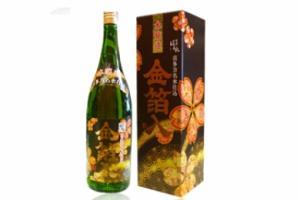 Rượu Sake Honjozo Kinpaku - Shu vẩy vàng