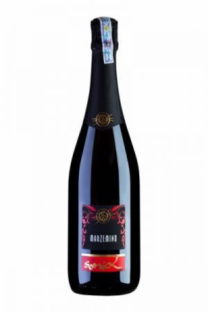 Rượu vang nổ đỏ Marzemino Spumante Sonia