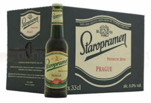 Bia Tiệp Staropramen - thùng 24 chai