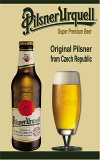Bia Tiệp Pilsner chai 330ml