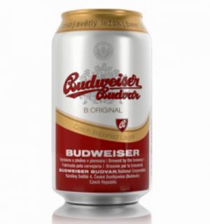 Bia Tiệp Budweiser Budvar lon 330ml