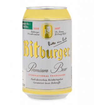 Bia Bitburger – Lon 330ml