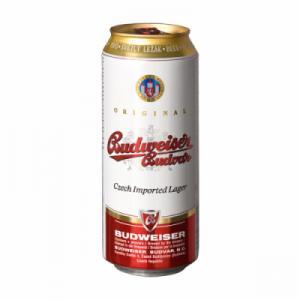 Bia Tiệp Budweiser Budvar lon 500ml