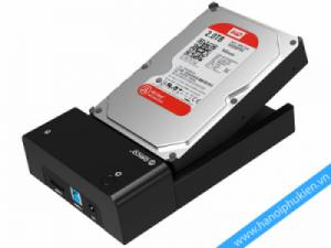 HDD Docking 3.5, 2.5 inches Orico 6518SUS3. Hỗ trợ SATA 4TB