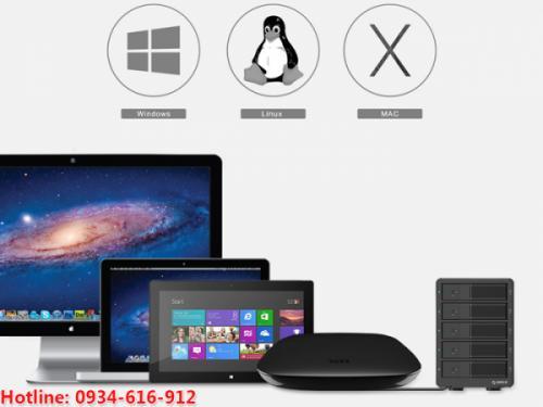 Hộp đựng ổ cứng 5 khay USB 3.0 Orico 9558U3