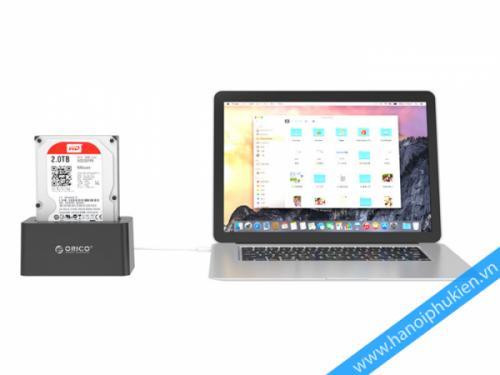 HDD Doking Orico 6619US3 USB 3.0, hỗ trợ cắm nóng Hotswap