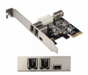 Card PCI-E to 1394 6pin 1394 4pin Unitek chính hãng