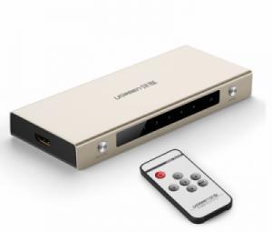 Bộ gộp HDMI 5 vào 1 ra hỗ trợ 3D FULLHD 4K Ugreen 40279