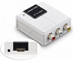 Đầu chuyển đổi AV to HDMI Ugreen 40225 chính hãng