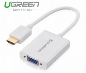 Cáp HDMI to VGA Ugreen 40212 chính hãng