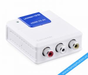 Ugreen 40223 chuyen doi HDMI sang AV RCA chính hãng