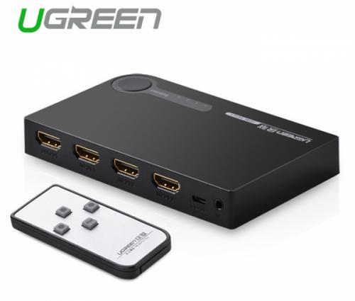 Bộ gộp HDMI 3 ra 1 FullHD Ugreen 40234 40251 chính hãng