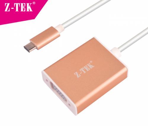 Cáp USB 3.1 Type C sang VGA Ztek ZY-231 chính hãng