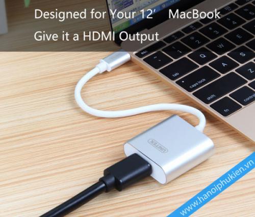 Cáp USB 3.1 Type C sang HDMI Unitek Y-6309 chính hãng