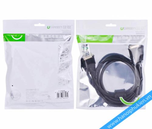 Cáp DVI to DVI 3M 24+1 Ugreen 11607 chính hãng