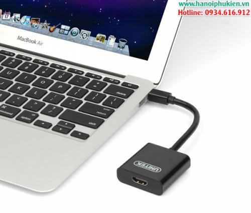 Thunderbolt to HDMI cho Macbook Unitek Y-6325BK