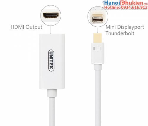 Cáp Mini Displayport sang HDMI 4K 2K Unitek Y-6331